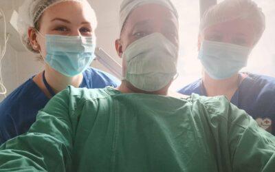 At være sygeplejerskestuderende på Zanzibar
